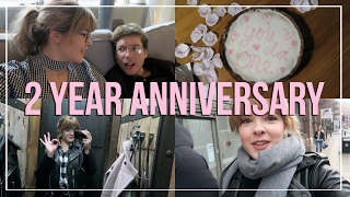 OUR TWO YEAR ANNIVERSARY | Weekly Vlog