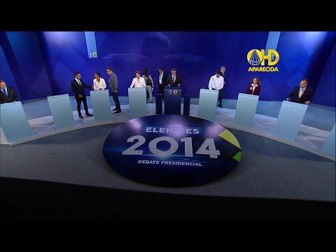 Debate dos candidatos a presidente na TV Aparecida 16/09/2014 ao vivo