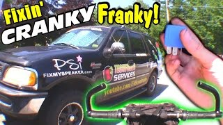 getlinkyoutube.com-Franky Breaks EVERYTHING + The Meaning of EXO || Fixing BROKEN Blinker Relay & Brake Light Switch