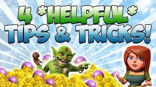 "getlinkyoutube.com-Clash of Clans - 4 *VERY HELPFUL* ""TIPS & TRICKS"""