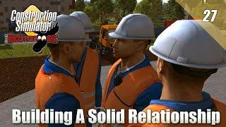 getlinkyoutube.com-Construction Simulator 2015 - Multiplayer - Building a Solid Relationship