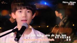 getlinkyoutube.com-[THAISUB] MV TFBOYS - Wang Junkai & Wang Yuan :: ทักทายวันใหม่ 《明天,你好》