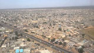 getlinkyoutube.com-LANDING AT MALLAM AMINU INTERNATIONAL AIRPORT, KANO, NIGERIA