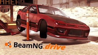 getlinkyoutube.com-BeamNg.drive Drift, Rollovers, Racing, Fails and Crashes Compilation