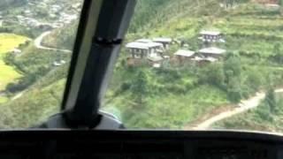 getlinkyoutube.com-Most dangerous landing in the world - Bhutan? (Original)