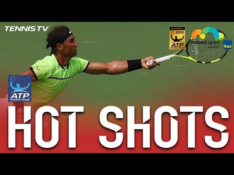 Nadal With Great Court Coverage For Miami Open 2017 Final Hot Shot