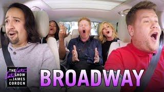 getlinkyoutube.com-Broadway Carpool Karaoke ft. Hamilton & More