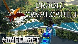 getlinkyoutube.com-Minecraft Mod -  DRAGHI CAVALCABILI - Dragon Mounts Mod - ITA