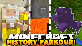 getlinkyoutube.com-Minecraft PARKOUR THROUGH HISTORY! (Hour Long Map!) w/PrestonPlayz, Woofless & CampingRusher