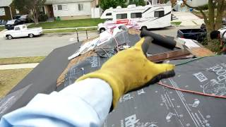 getlinkyoutube.com-PROPER WAY to install A SECOND LAYER OF ROOF OVER EXISTING ROOF...all homeowners should know this! !
