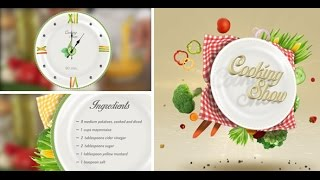 getlinkyoutube.com-Cooking Show Pack | After Effects template