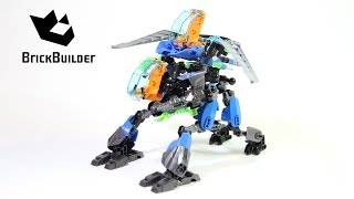 getlinkyoutube.com-Lego Hero Factory 44028 SURGE & ROCKA Combat Machine - Speed Build