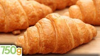 getlinkyoutube.com-Recette des Croissants maison / Homemade croissants - English subtitles - 750 Grammes