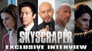 SKYSCRAPER (DWAYNE THE ROCK JOHNSON) NEW MOVIE ALL CAST INTERVIEW INDONESIA