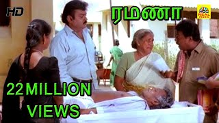 getlinkyoutube.com-Ramanaa Movie Hospital Scenes | Vijayakanth Mass Scenes Hd| Ramanaa Scenes|