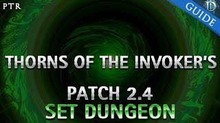 getlinkyoutube.com-Diablo 3 - Thorns of the Invoker's Set Dungeon Guide Patch 2.4