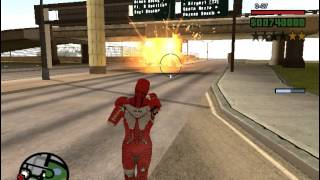 getlinkyoutube.com-GTA San Andreas - Iron Man 3 Pc