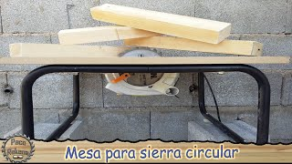 getlinkyoutube.com-Mesa de corte con sierra circular