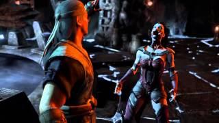 getlinkyoutube.com-Mortal Kombat x  all fatalities on mileena (vampiress costume)