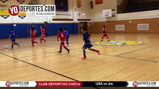 USA vs  Jrs Liga Club Deportivo Checa en Chicago, IL