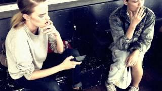 getlinkyoutube.com-Models Smoking. Rachel Rutt and Nicole Pollard. By Ollie Henderson
