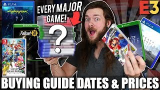 ALL E3 2018 Games & Release Dates - Buying Guide!