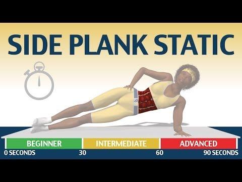 Side plank static