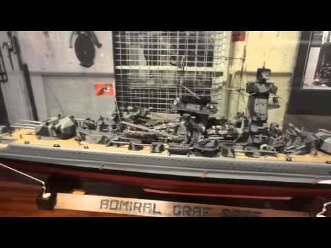 Chatham Historic Dockyard - some highlights model boats, ship, steam engines & lots more.