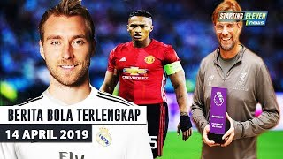 Eriksen Ke Madrid 🔥 Valencia Resmi Out  😱 Klopp Terima Penghargaan  ( Berita Bola Terlengkap )
