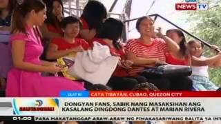 BT: Dongyan fans, sabik nang masaksihan ang kasalang Dingdong Dantes at Marian Rivera