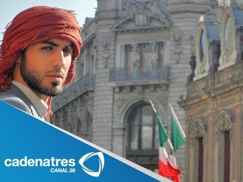 Hombre más guapo de Arabia Saudita visita México