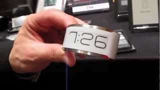 E Ink shows off an ePaper watch, flexible, and color displays