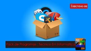 getlinkyoutube.com-Pack de Programas Para PC: Download Pack Pós Formatação 2016