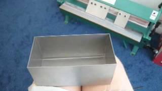 getlinkyoutube.com-Sheet Metal Box & Pan Brake Tutorial - Grizzly Brake in my home shop