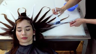 getlinkyoutube.com-Fluid Hair Painting / [Diane] Retouch, Hi's + Low's