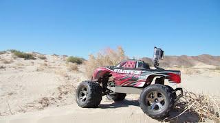 getlinkyoutube.com-Traxxas Desert Stampede 4X4 - A Day in the Desert