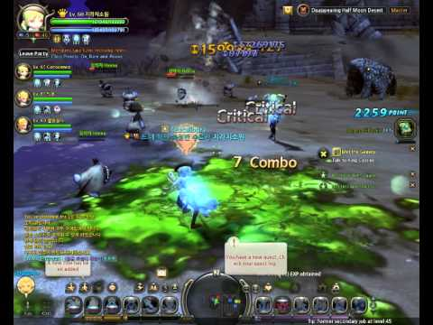 Korean Dragon Nest 2.0 [Level 70 Cap New Dungeon]: Disappearing Half Moon Dessert