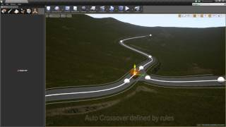 getlinkyoutube.com-Road Editor Plugin - Unreal Engine 4