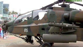 getlinkyoutube.com-陸上自衛隊 アパッチ曲芸飛行の大サービス! AH-64D Apache Longbow Aerobatics JGSDF アパッチ・ロングボウ