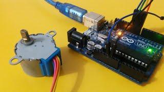 getlinkyoutube.com-شرح طريقة تحكم step motor من خلال الاردوينو Arduino