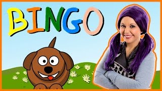 Bingo Song | Bingo Nursery Rhyme Kids Song | B I N G O
