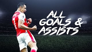 getlinkyoutube.com-Alexis Sanchez - ALL 93 Goals & Assists For Arsenal