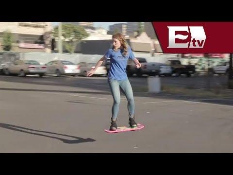 Hacen realidad la patineta voladora de la cinta Volver al Futuro/ Hacker Paul Lara