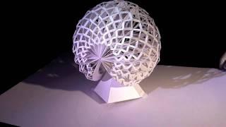 getlinkyoutube.com-Six Amazing Pop-Up Paper Sculptures