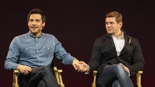 getlinkyoutube.com-Rob James Collier and Allen Leech: Downton Abbey Interview