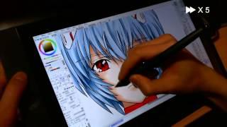 getlinkyoutube.com-Cintiq13HD Speed Paint