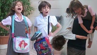 getlinkyoutube.com-سبب تأخرهم عن المدرسة!؟
