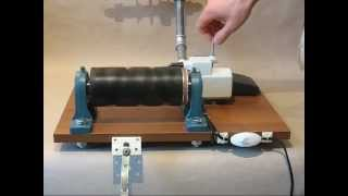 getlinkyoutube.com-Electric Wool Winder / Yarn Winder / Cone winder / Wollwickler / Моталка для пряжи