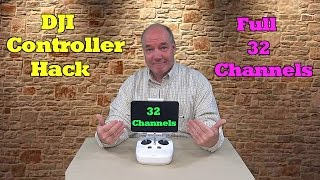 HOW TO : 32 Channel Hack for DJI Phantom Drones