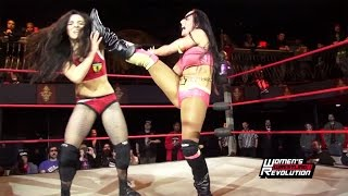 "getlinkyoutube.com-[Free Match] Deonna Purrazzo vs. Santana Garrett - Women's Wrestling Revolution ""Project XX"" (NXT)"
